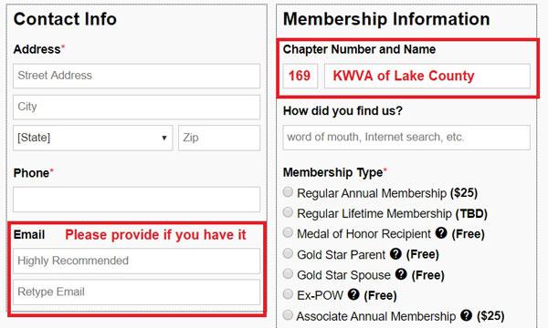 KWVA Membership Information